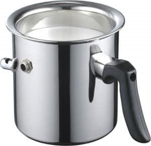 Milchtopf zum Milch erwärmen
