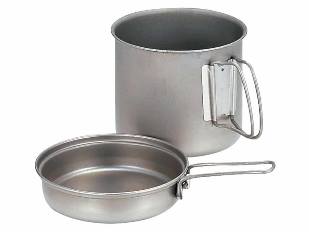 Backpacking faltbare Suppe Topf Fisch Bratpfanne Tee Kaffee Wasserkocher
